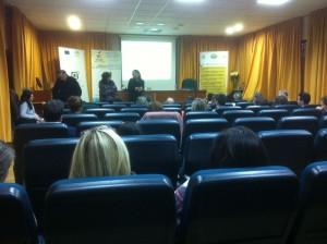 Presentación de las Jornadas en Granada.