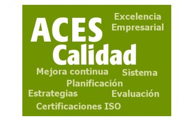 Renovación de la Certificación ISO9001 del Sistema General de Calidad ACES