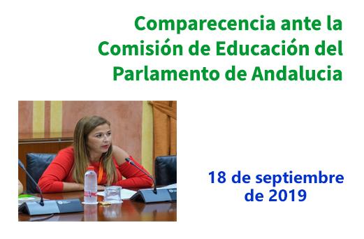 Intervención ante la Comisión de Educación de la proposición de Ley de Gratuidad y Universalidad del Primer Ciclo de Educación Infantil