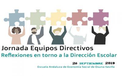 Jornada de equipos Directivos de Centros Educativos