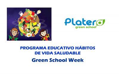 Programa Educativo Hábitos de vida saludable – Colegio Platero