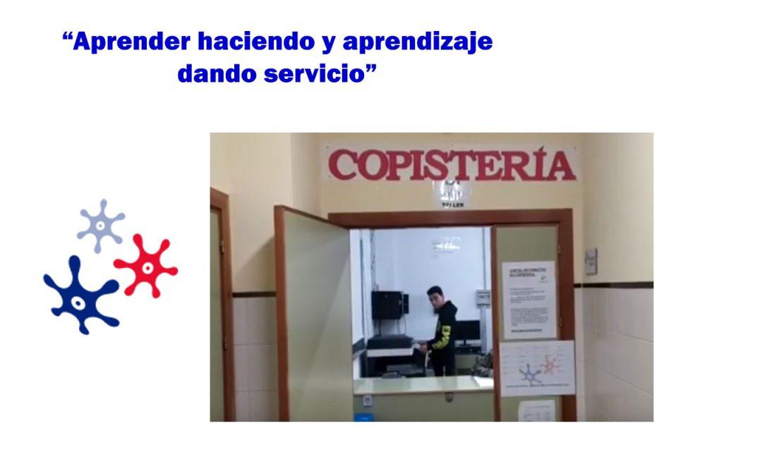 Servicio de copistería – El aprendizaje-servicio