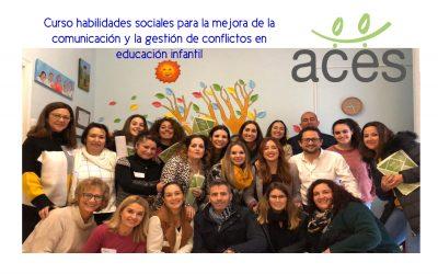 Curso Habilidades para la comunicación y gestión de conflictos en escuelas de educación infantil