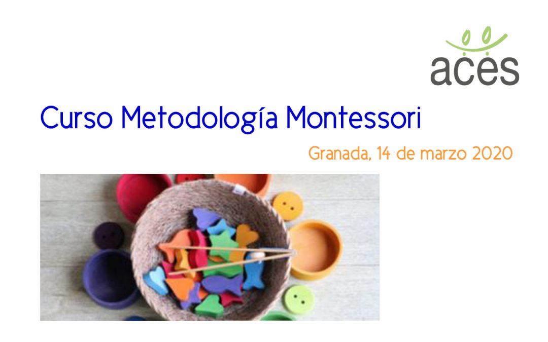 Curso – Metodologías Montessori