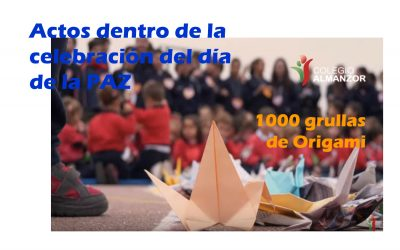 Las 1000 grullas de Origami – Colegio Almanzor