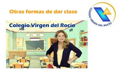 Otra forma de dar clase – Colegio Virgen del Rocío
