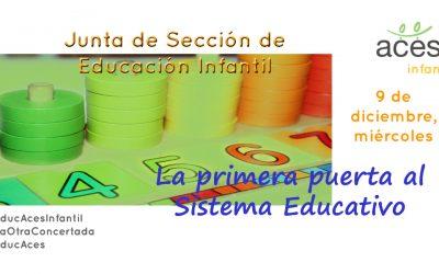 Junta de Sección de Educación Infantil 2020