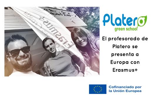 El profesorado de Platero se presenta a Europa con ERASMUS+