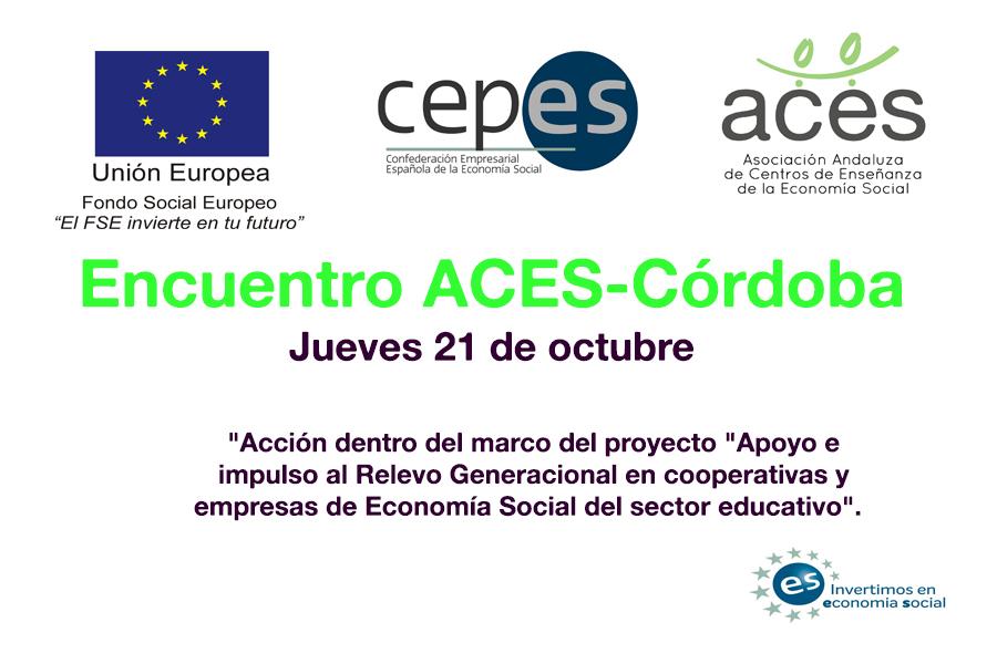 Encuentro relevo generacional ACES Córdoba